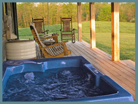 nashville in rental county the colony laguna cabins vacation indiana cabin near of rentals artists brown house home